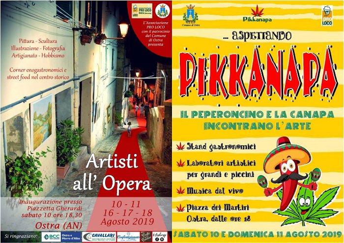 Artisti all'Opera e Pikkanapa - Ostra 2019