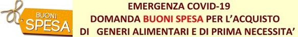 BUONI SPESA EMERGENZA COVID 19