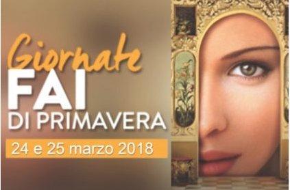 24 e 25 marzo 2018 - Giornate FAI di Primavera