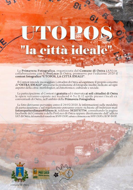 "Primavera fotografica 2020 ""UTOPOS, LA CITTA IDEALE"""