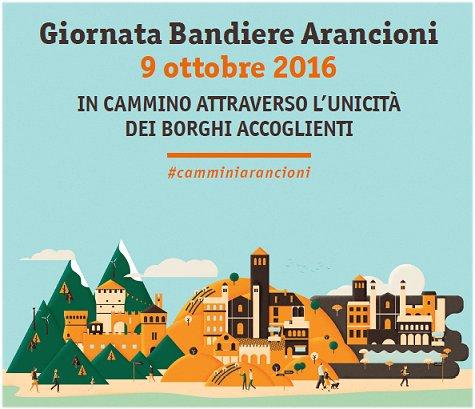 05/10/2016 - Giornata Bandiere Arancioni 9 ottobre 2016