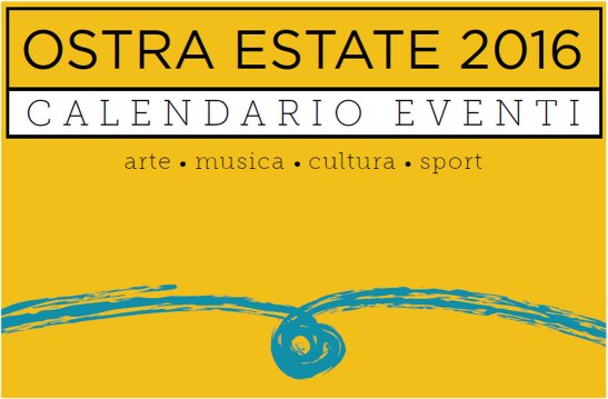 Calendario eventi Ostra Estate 2016