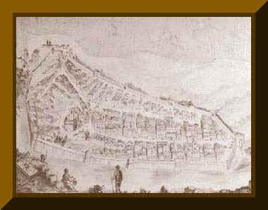 Tavola raffigurante la pianta dell'antica città di Monte Bodio